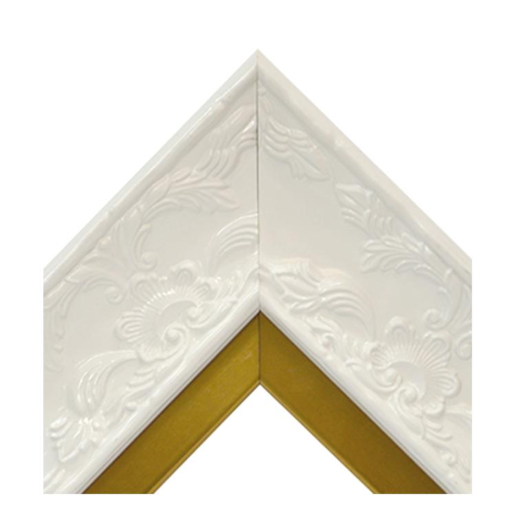 Renaissance White Gloss-Brass
