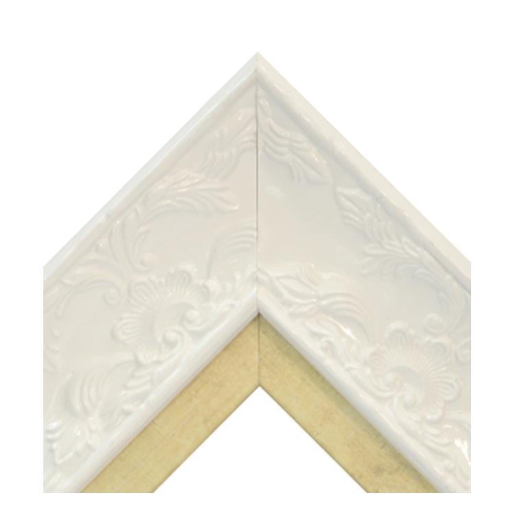 Renaissance White Gloss-Guilded Gold