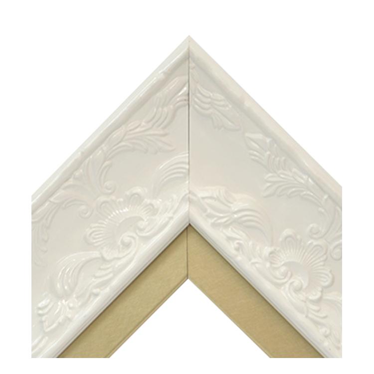 Renaissance White Gloss-Metallic Gold