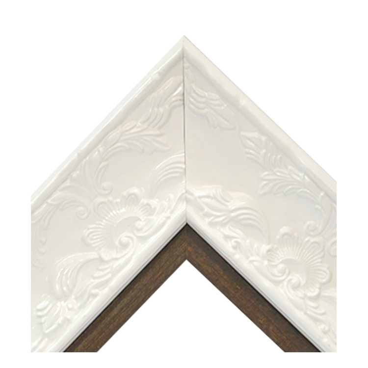 Renaissance White Gloss-Natural Wood