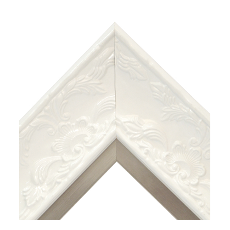 Renaissance White Gloss-Pewter