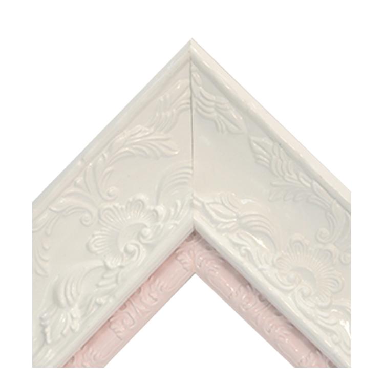 Renaissance White Gloss-Shiny Pink