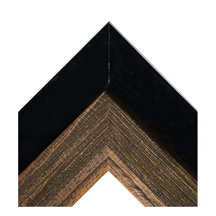 The Executive-Matte Black and Wood
